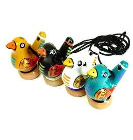 Jamtown Bird Water Whistle, assorted. Peru
