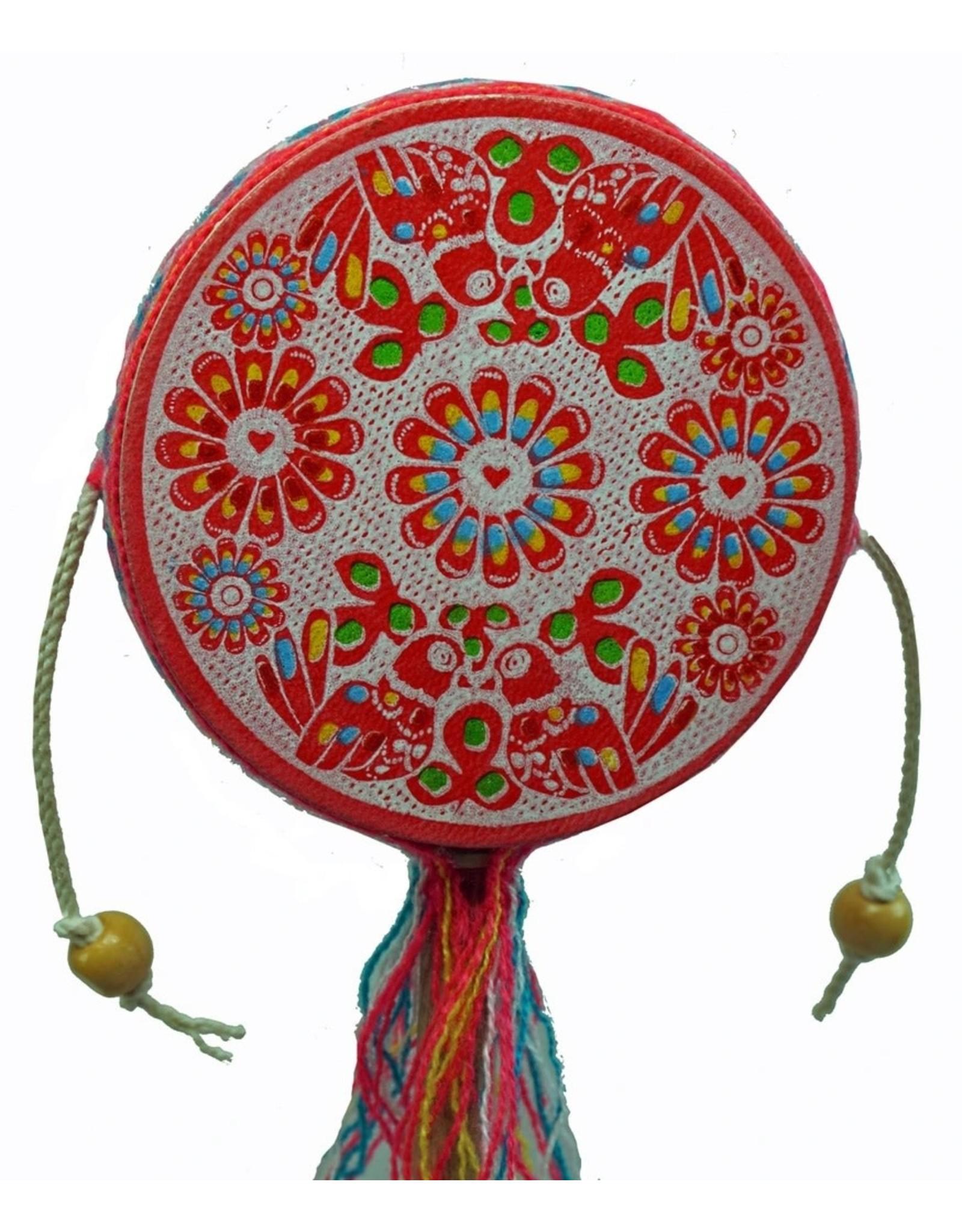 Jamtown Bright Spin Drum, Assorted, Peru