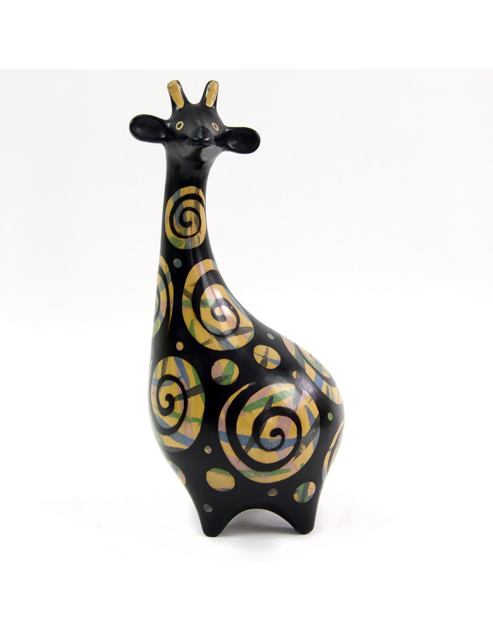 Minga Chulucanas Pottery Animal Sculpture, Peru.