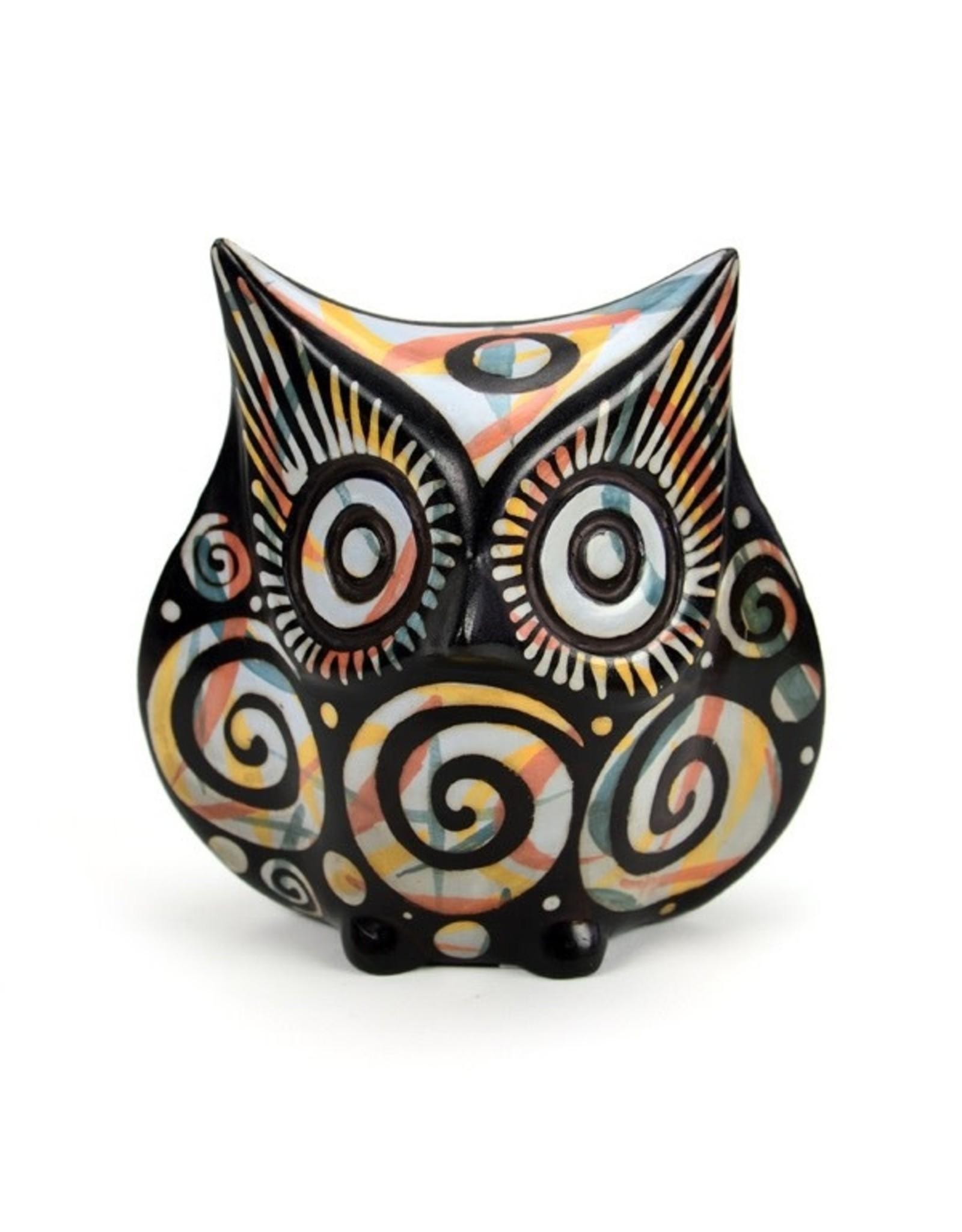 Minga Chulucanas Pottery Animal Sculpture, Peru.