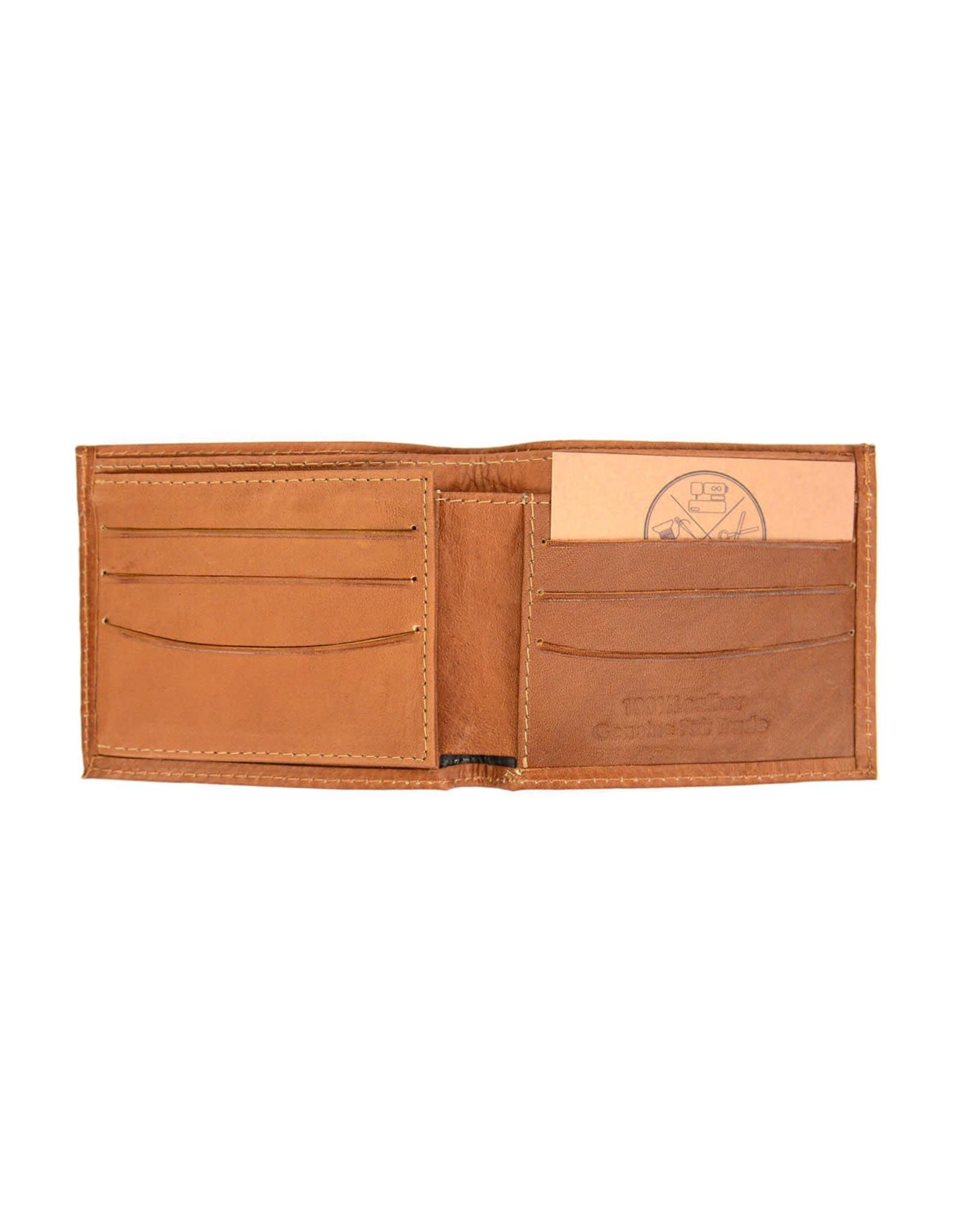 Minga Leather Bifold Wallet, Ecuador