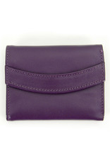 Minga Arco Small Leather Wallet, Assorted Colours, Peru