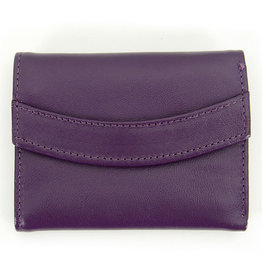 Minga Arco Small Leather Wallet, Peru.