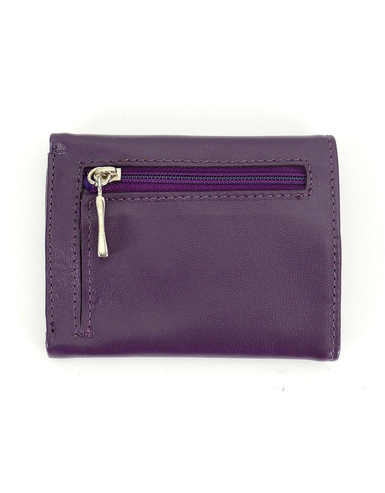 Minga Arco Small Leather Wallet, Peru.