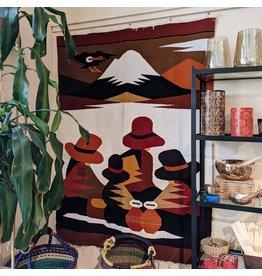 Minga Ecuadorian Wool Tapestry