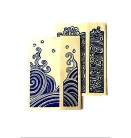 Ganesh Himal Water Series Card set of 2, style A. Nepal