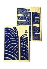 Ganesh Himal Water Series Card set of 2, style B. Nepal