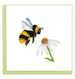 quillingcard Bumble Bee Quilled Greeting Card, Vietnam