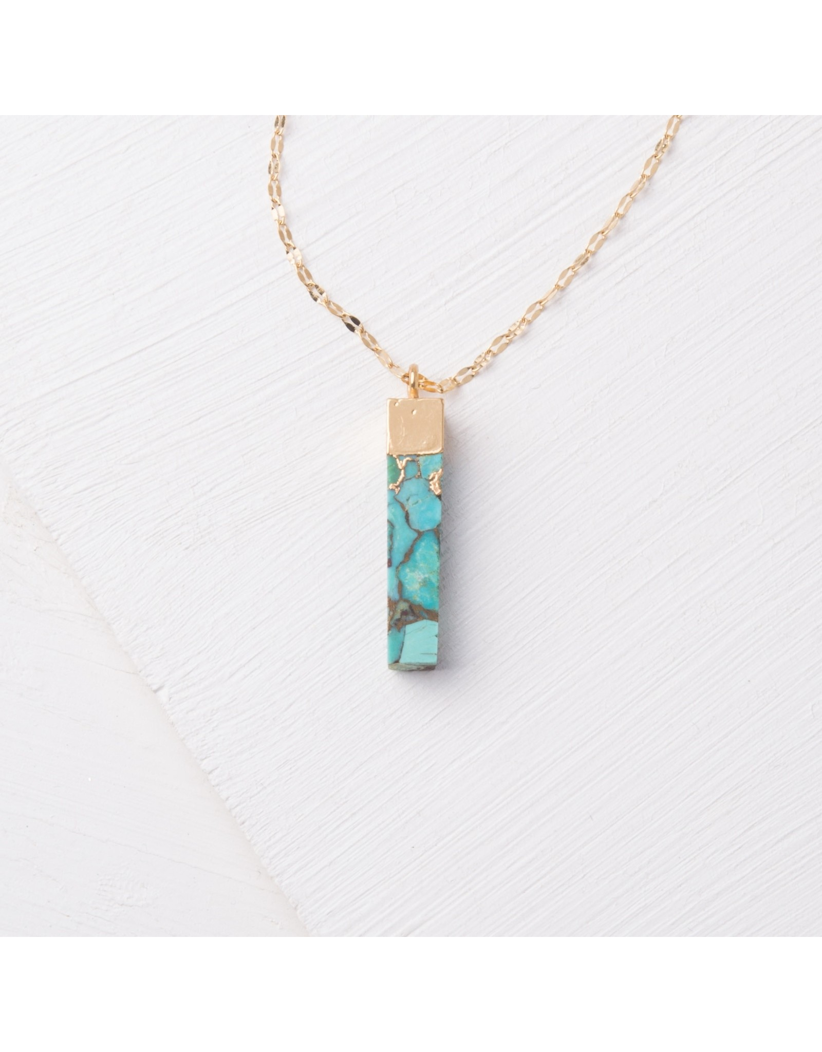 Starfish Project Brayden Turquoise Pendant Necklace, China