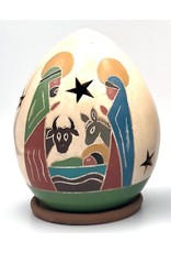 Women of the Cloud Forest Luminary - Nativity w/ Animals, Nicaragua