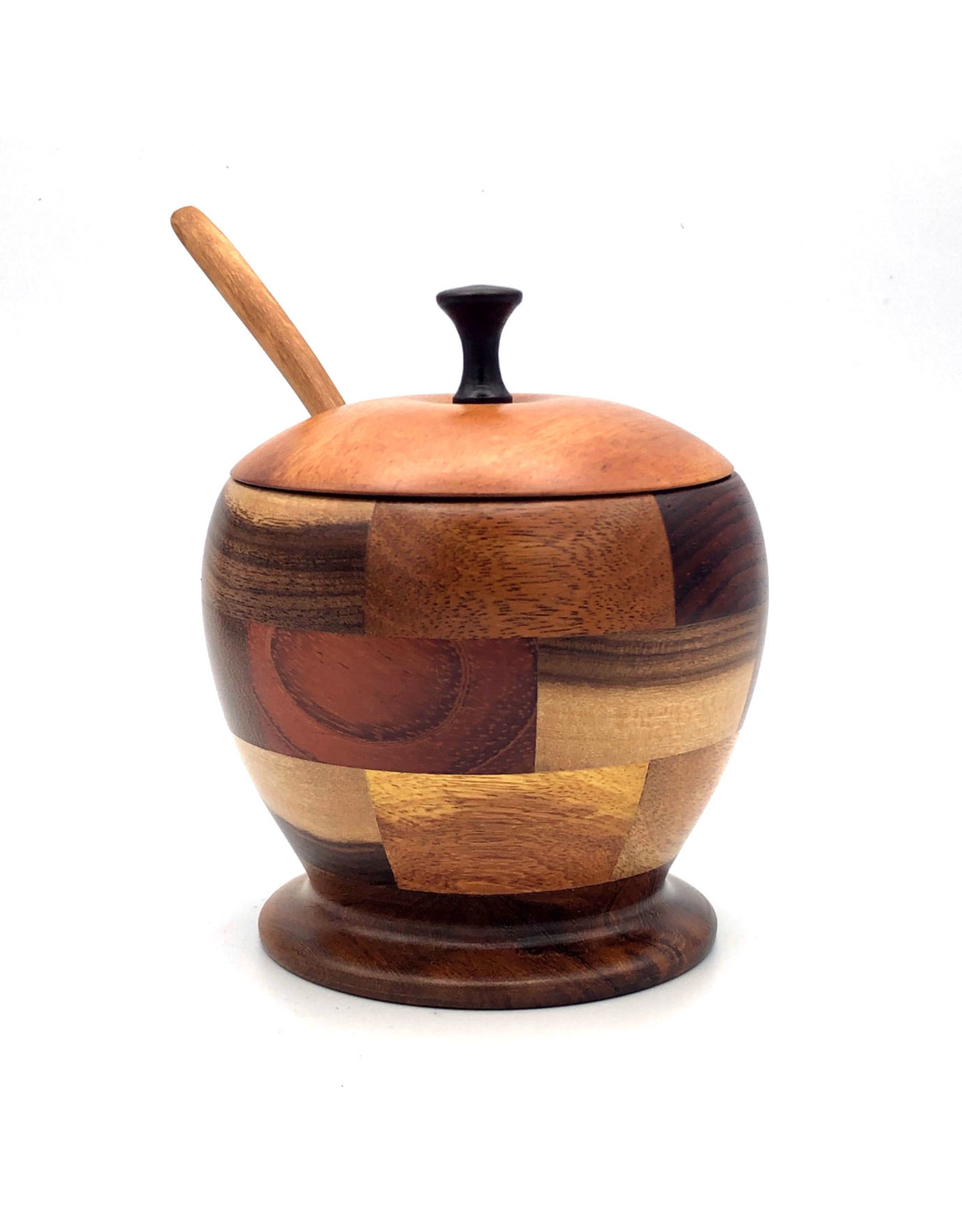 Women of the Cloud Forest Sustainable Hardwood Sugar Bowl, Nicaragua