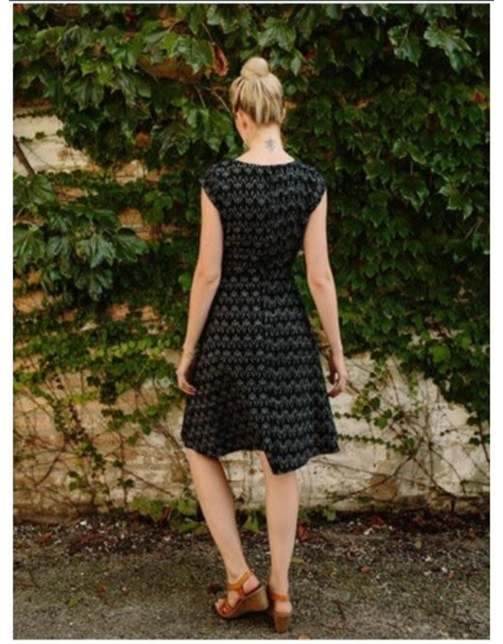 Marseille Dress, Ikat, India