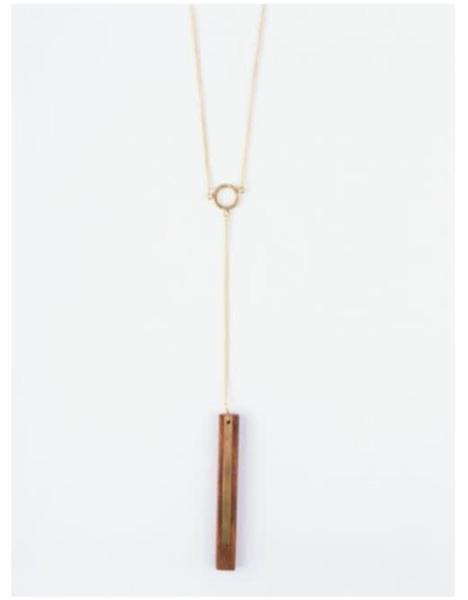 Winslow Wood Necklace, India