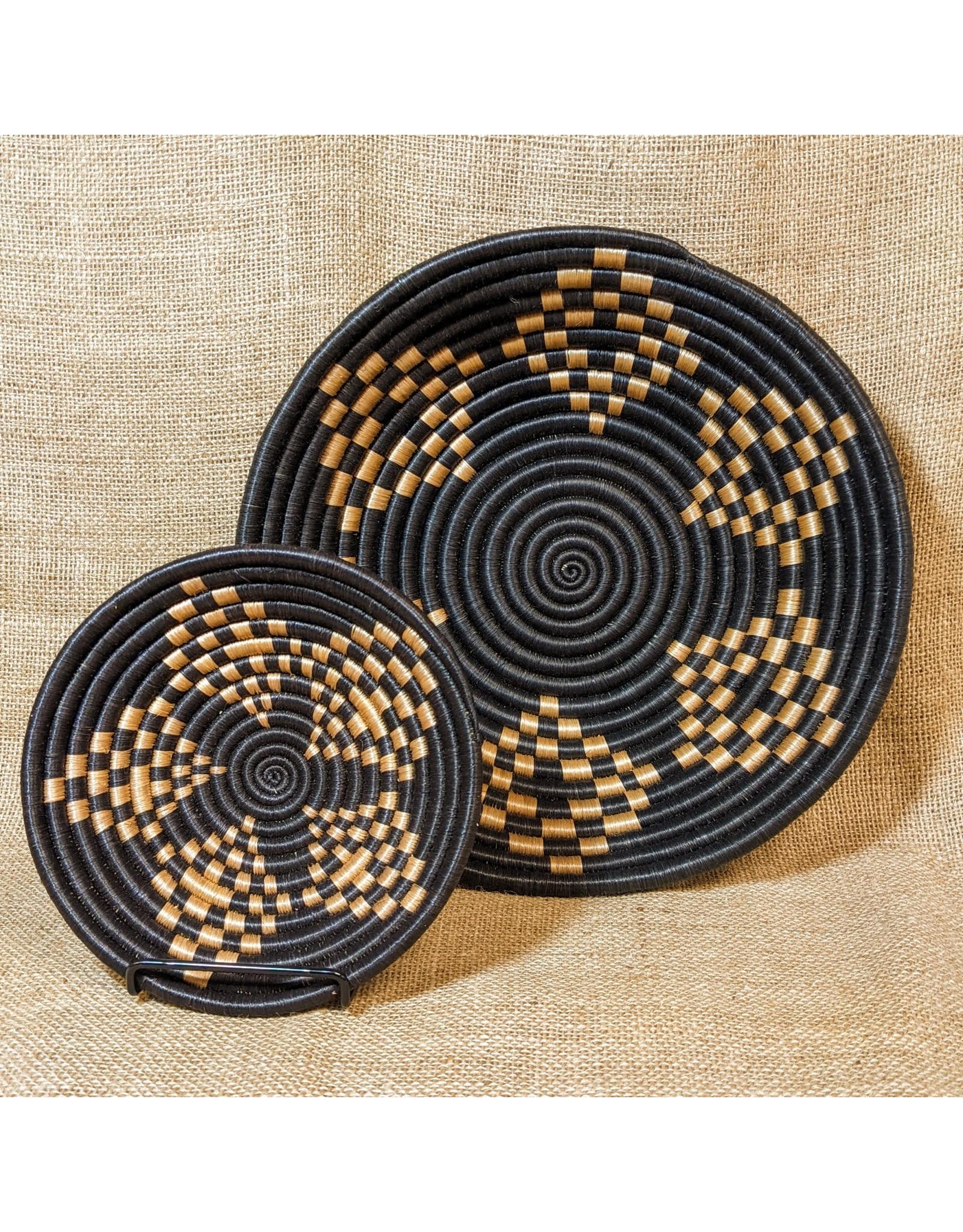 """Soko Home 7"""" / 18 cm Bariku Woven Bowl, Rwanda"""