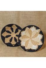 "Soko Home 7"" Round Table Woven Bowl, Rwanda"