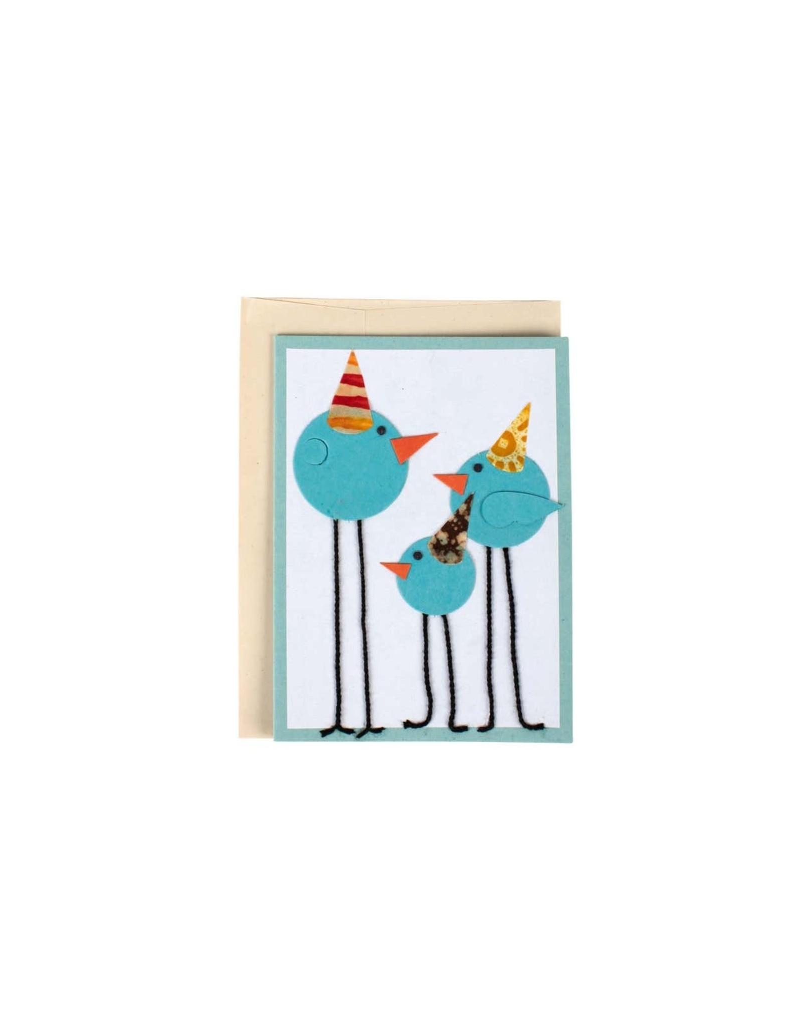 TTV USA Party Birds Greeting Card, Bangladesh