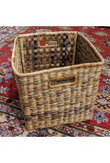 Soko Home Banana Twine Cube Basket, Rwanda