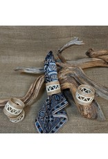 Soko Home Handwoven Napkin Rings, Set of 4. Rwanda