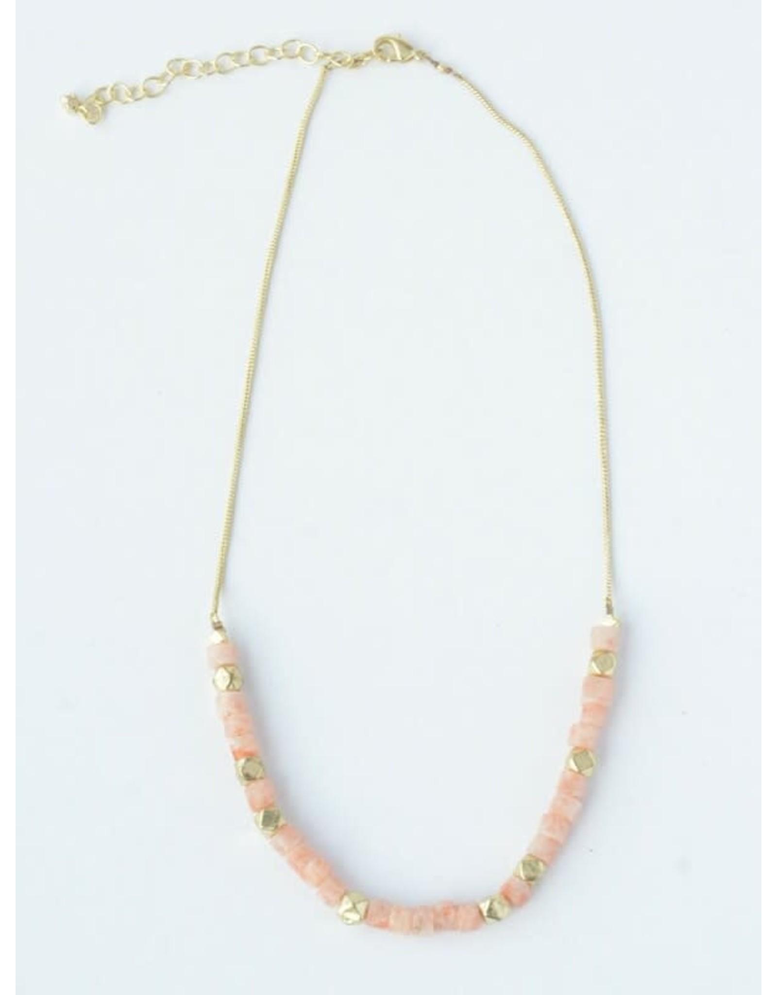Fair Anita Sand Glass Necklace, India