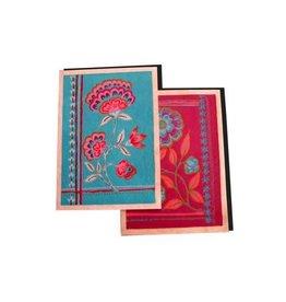 Ganesh Himal Tibetan Floral Card, set of 2, Nepal