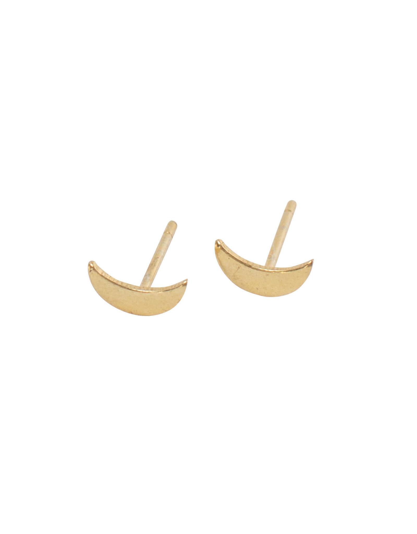 TTV USA Crescent Moon Earrings, India