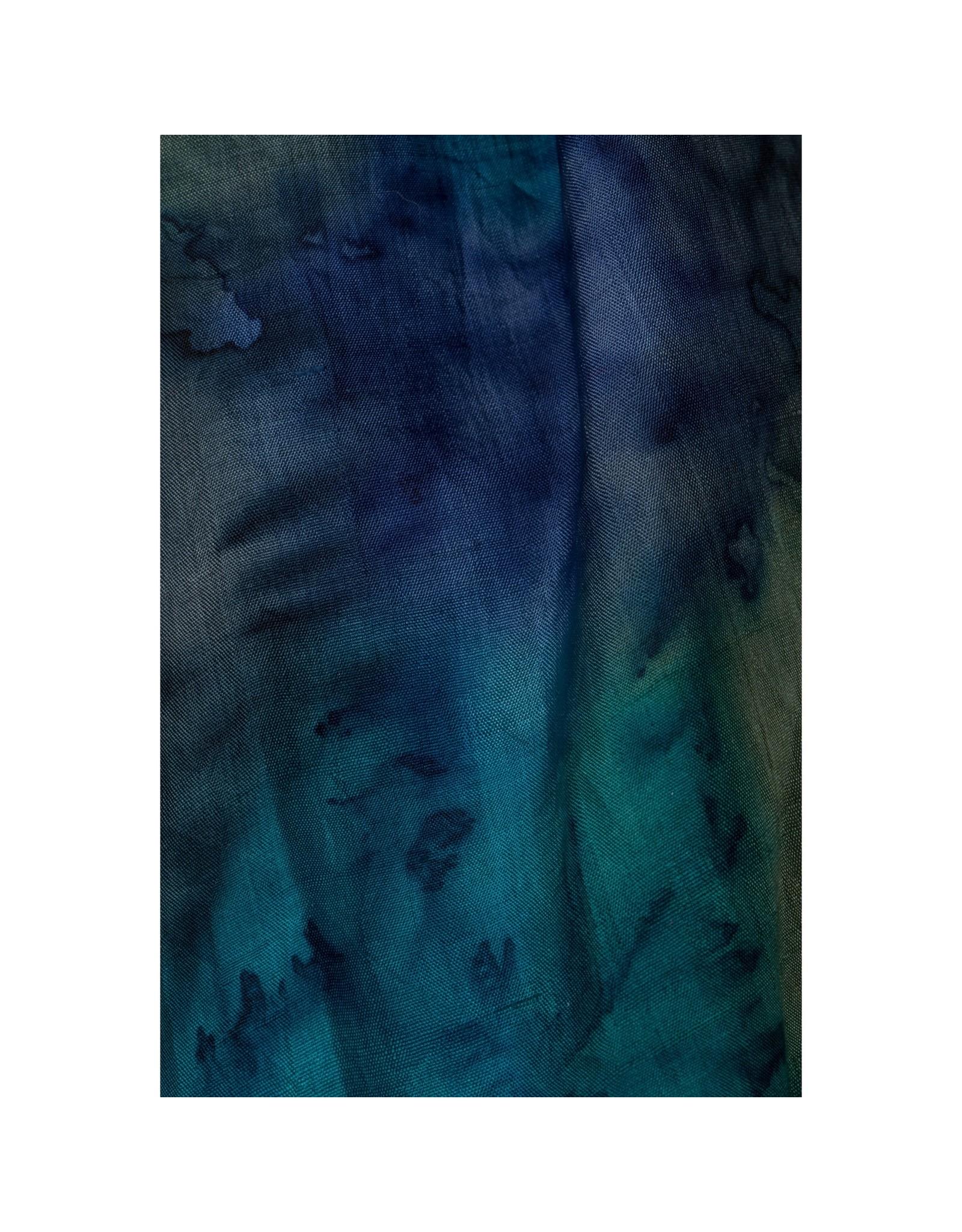 TTV USA Waterfall Painted Silk Scarf, India