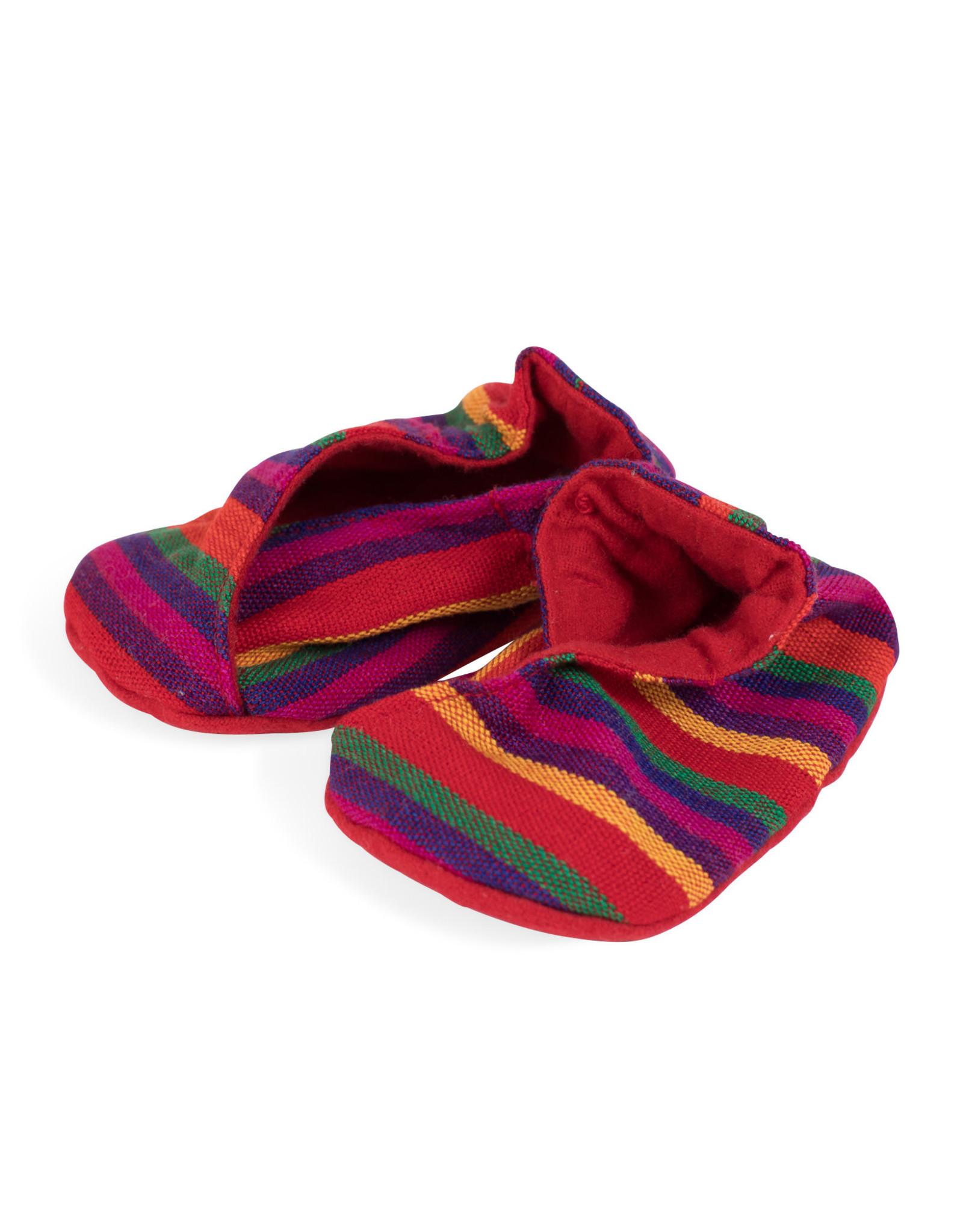 TTV USA Happy Feet Baby Booties, Guatemala