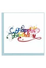 quillingcard Quilled Happy Birthday Card, Vietnam