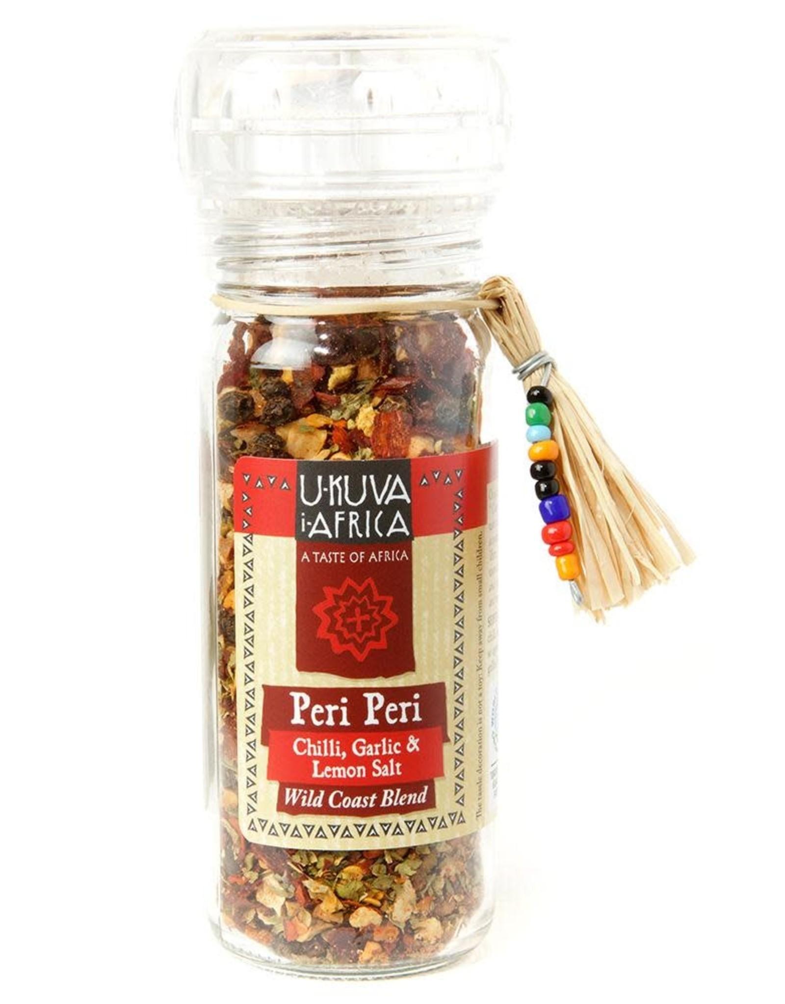 Swahili Wholesale Ukava iAfrica Wild Coast Peri Peri Salt Grinder