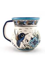 Lucia's Imports Wild Bird Coffee Mug, assorted. Guatemala