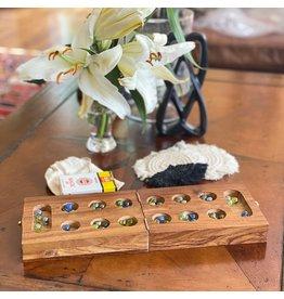 Global Crafts Mancala & Cribbage Combo Game, India