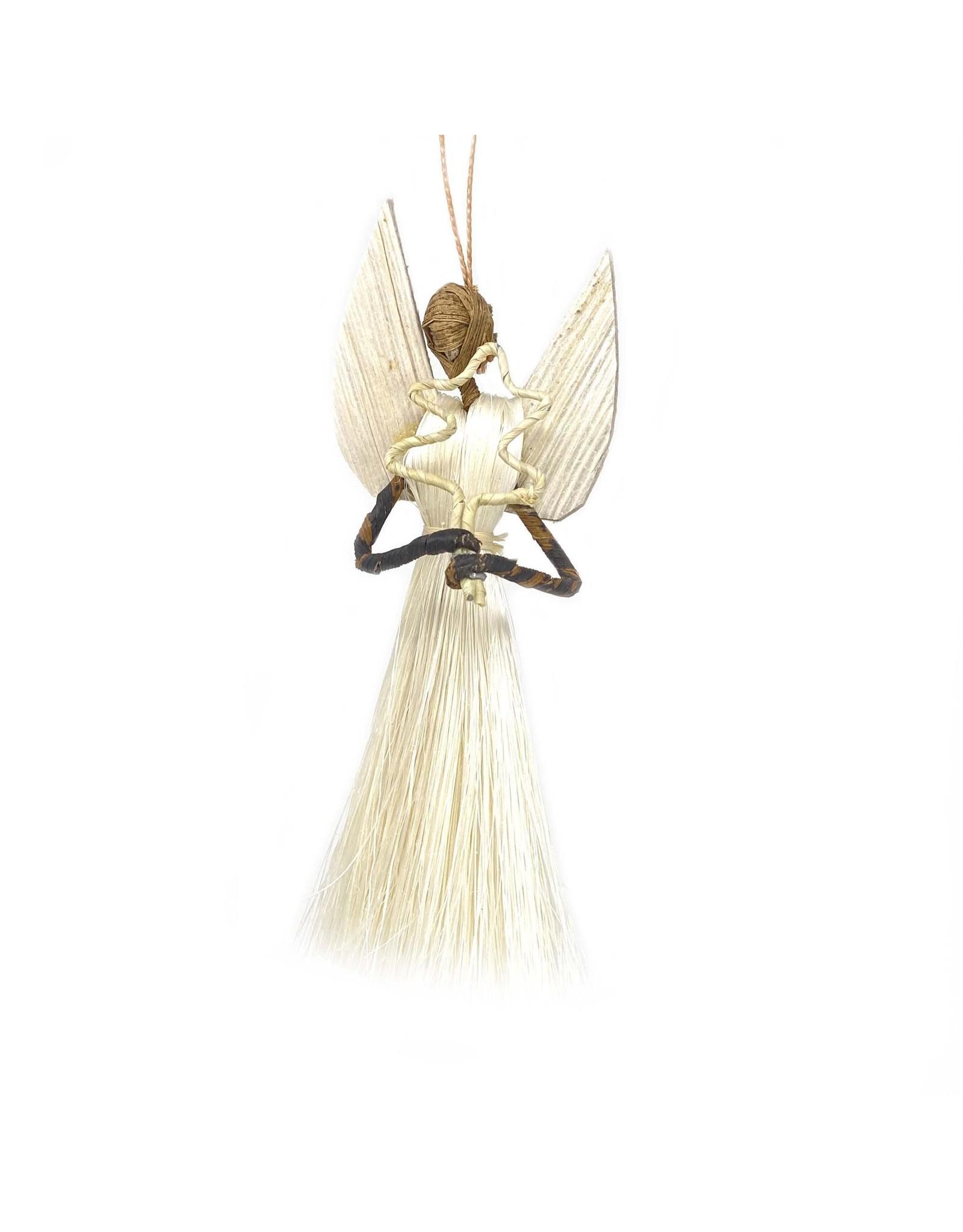 Global Crafts Sisal Angel Ornament, Kenya