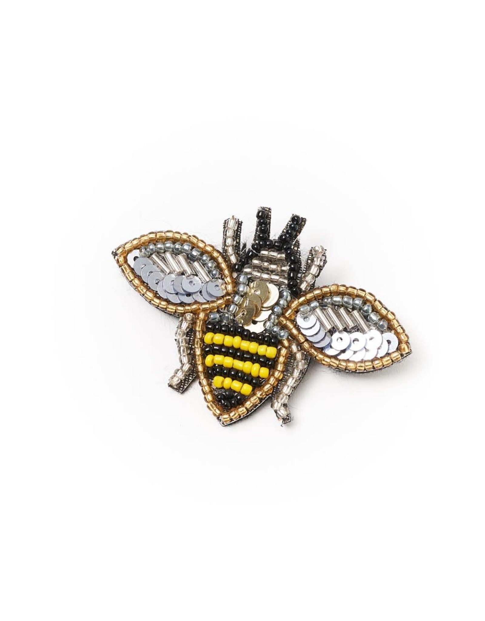 Matr Boomie Bala Mani Bee Brooch, India
