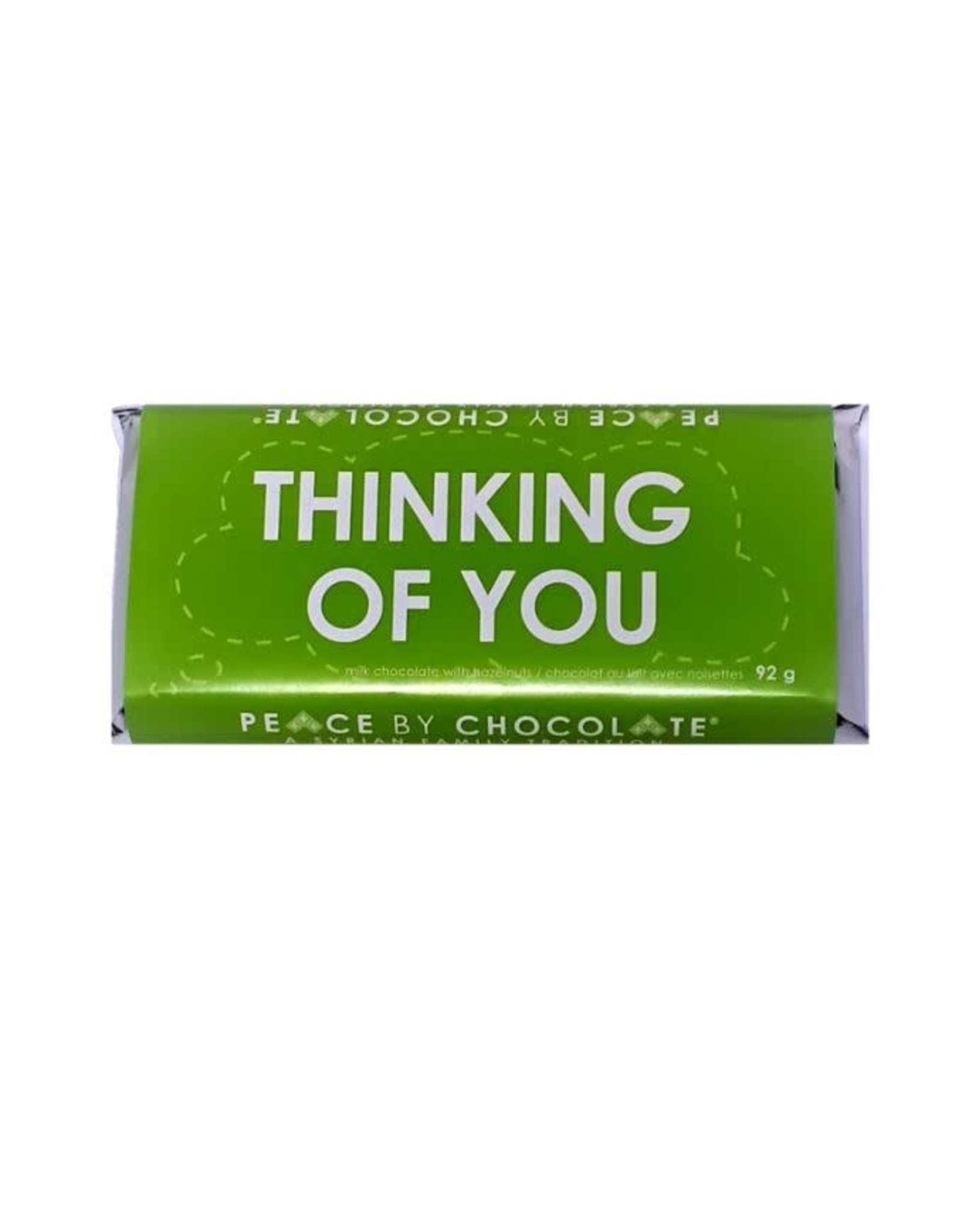 Peace by Chocolate Thinking of You Bar, 92g.  Canada