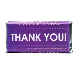 Peace by Chocolate Thank You bar, 92g. Canada