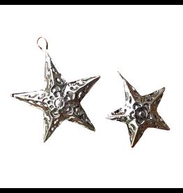 Abrazo Style Small 5 Point Tin Star, Mexico