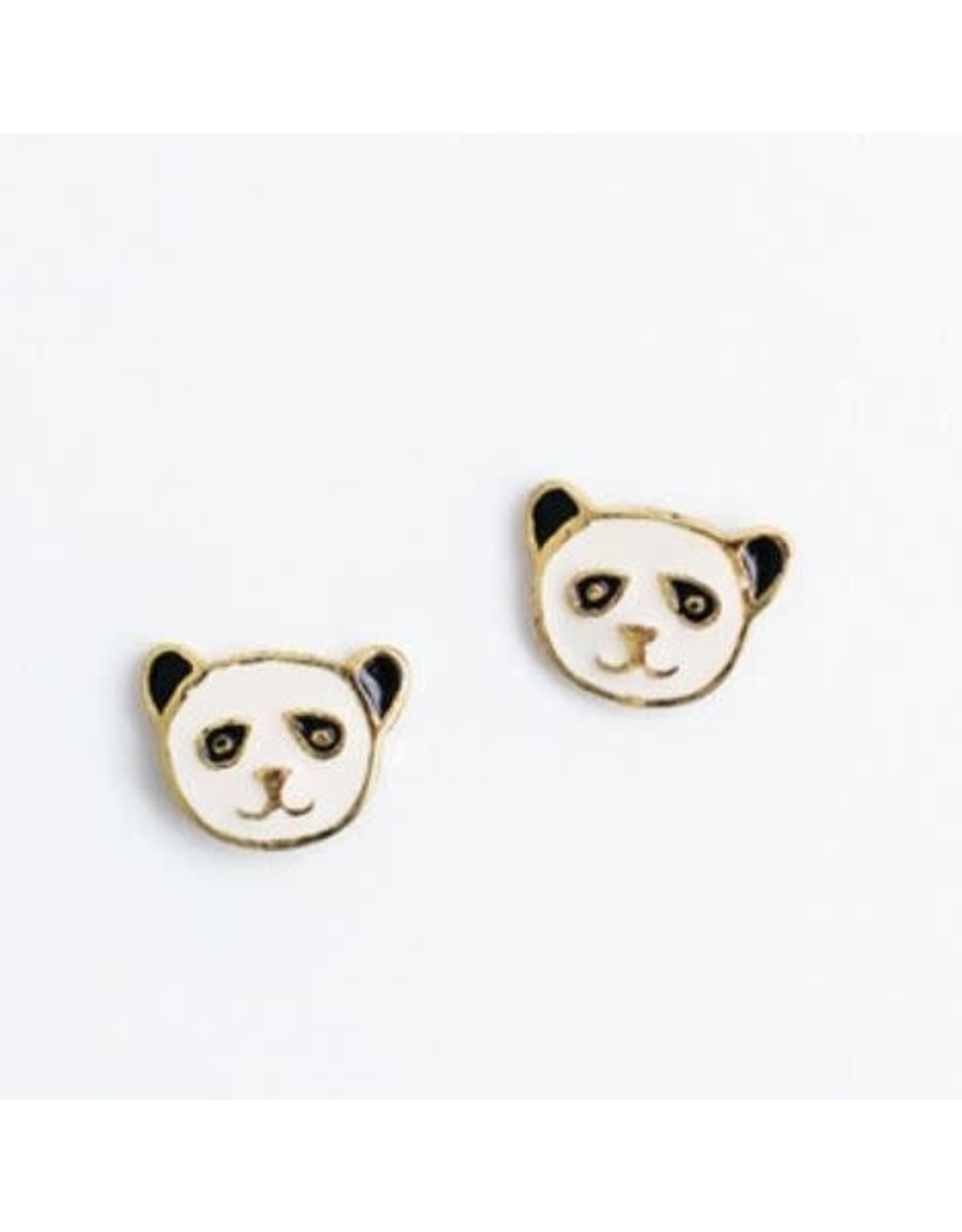 Panda Studs. India