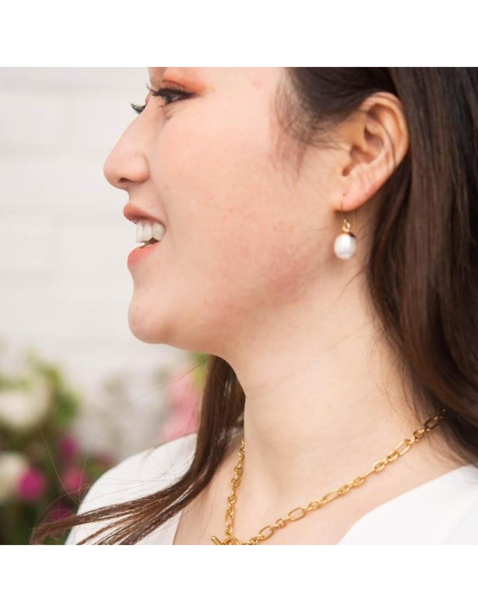 Starfish Project Katherine Pearl Earrings. China
