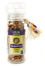 Swahili Wholesale Ukava iAfrica Mozambique Ginger & Chili Pepper Grinder. South Africa