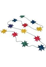 TTV USA Bright Multicolour Star Garland, Bangladesh