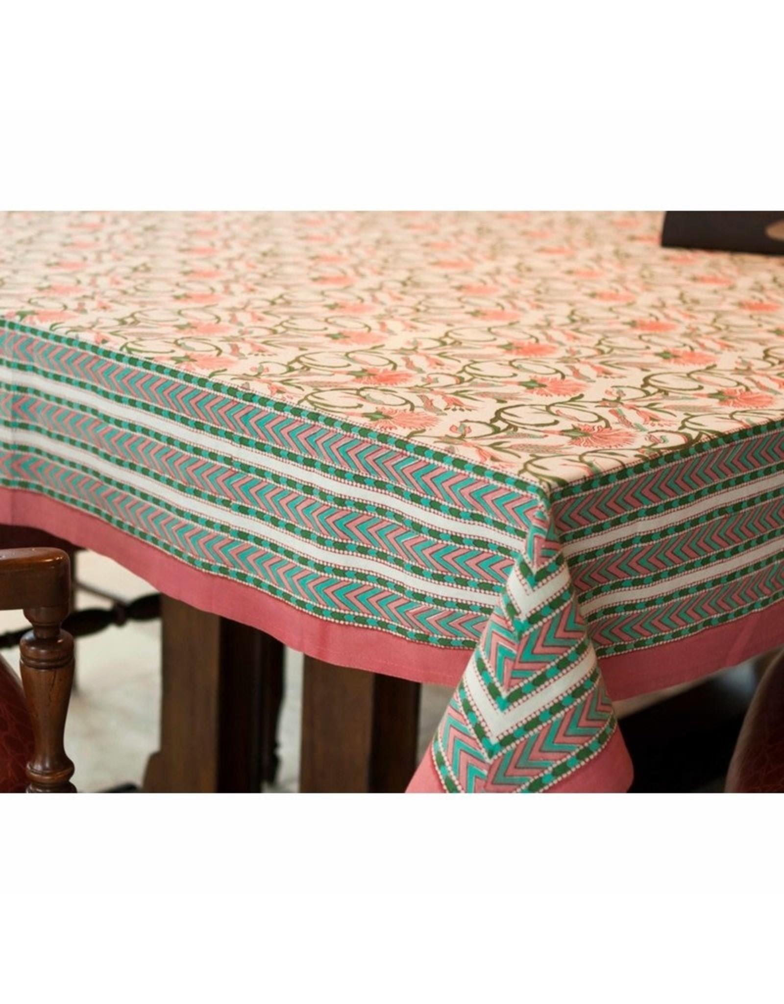Fair Trade Winds Fantail Paradiso Tablecloth, India.