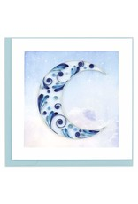 quillingcard Quilled Crescent Moon Card, Vietnam