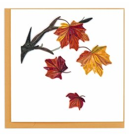 quillingcard Quilled Autumn Leaves Card, Vietnam