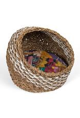 TTV USA Recycled Sari Cat Basket, Bangladesh.
