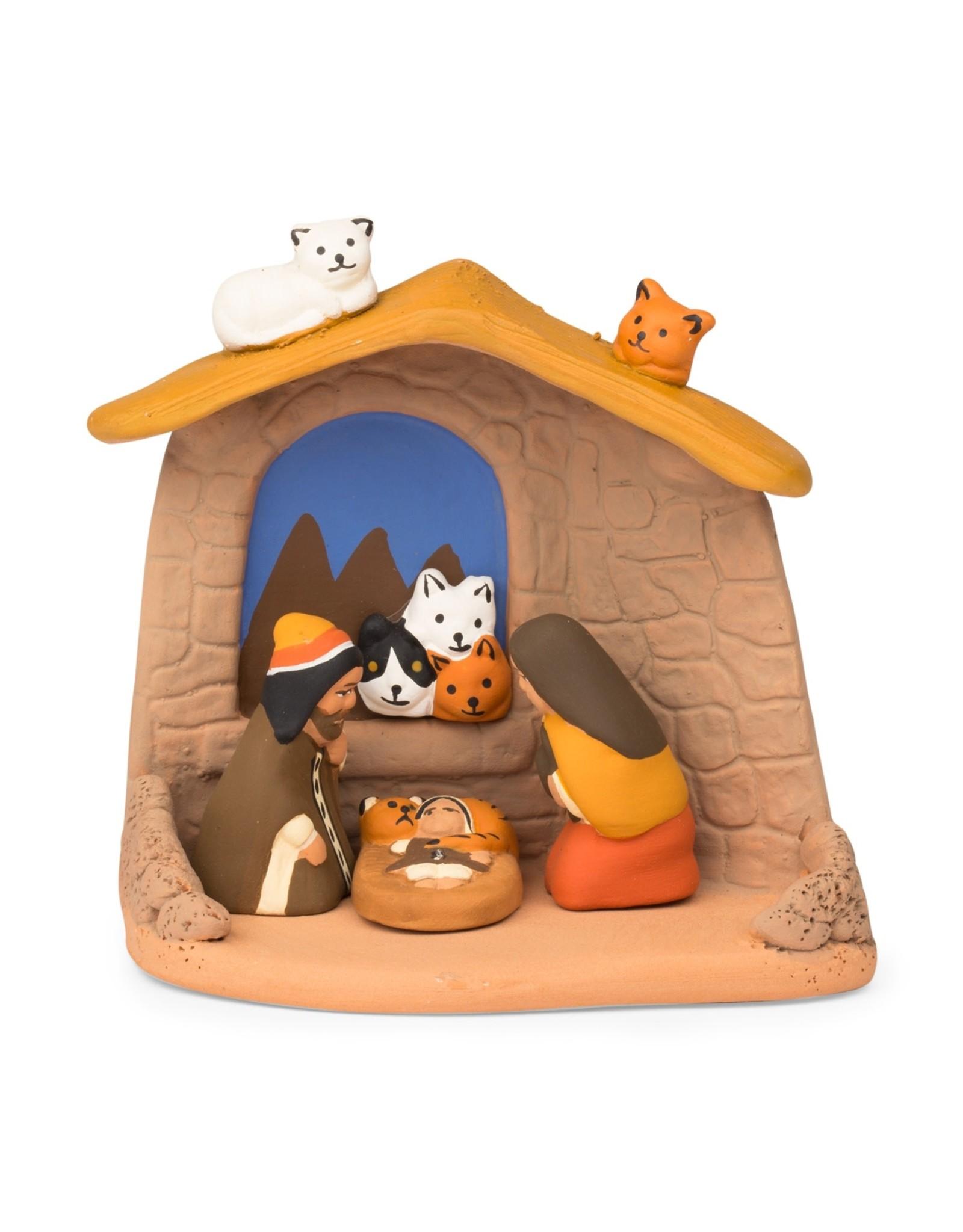 TTV USA Cat Lover's Nativity, Peru