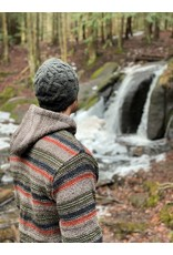 Lost Horizons Pierce Knit Hat, Woodland. Nepal.