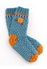 Lost Horizons Hand knit wool socks, Nepal.