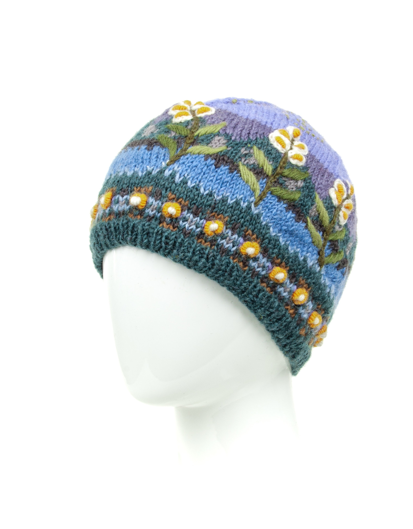 Lost Horizons Chloe Knitted Hat, Nepal.