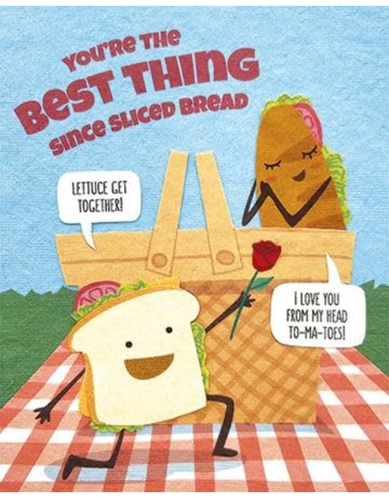 Good Paper Sliced Bread Love Greeting Card, Philippines