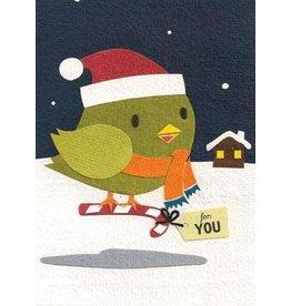 Good Paper Robins Gift Greeting Card, Rwanda